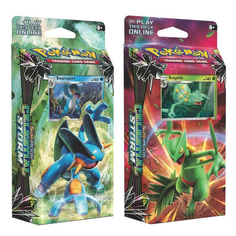 Pokemon Sun and Moon Celestial Storm (2) Theme Deck Mixc from ICONIX