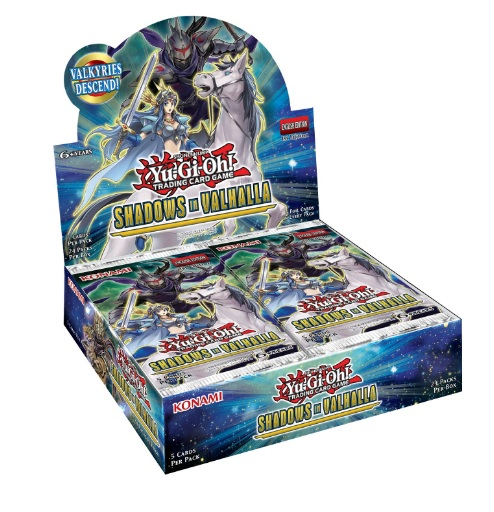 Buy YuGiOh Shadows in Valhalla (24CT) Booster Box in New Zealand.