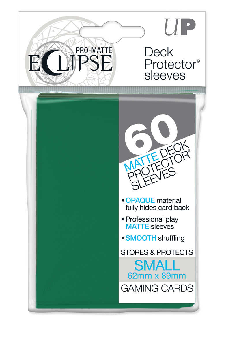Ultra Pro YuGiOh PRO-Matte Eclipse (60CT) Forest Green Sleeves from ICONIX