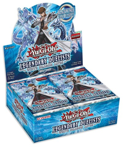 Buy YuGiOh Legendary Duelists White Dragon Abyss (36CT) Booster Box in New Zealand.