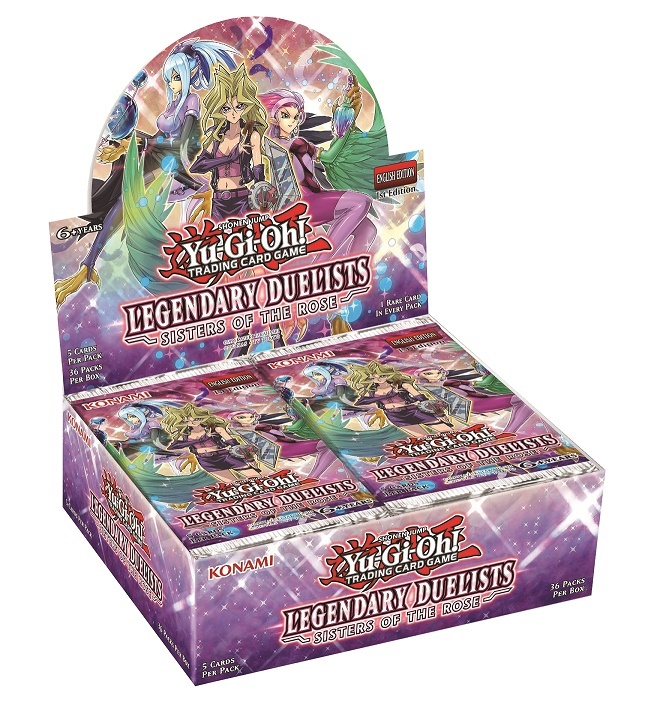 Buy YuGiOh Legendary Duleists: Sisters of the Rose (36CT) Booster Box