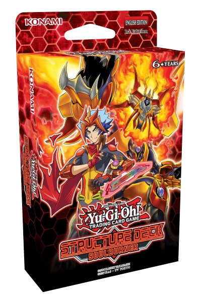 Buy YuGiOh Soul Burner Structure Deck