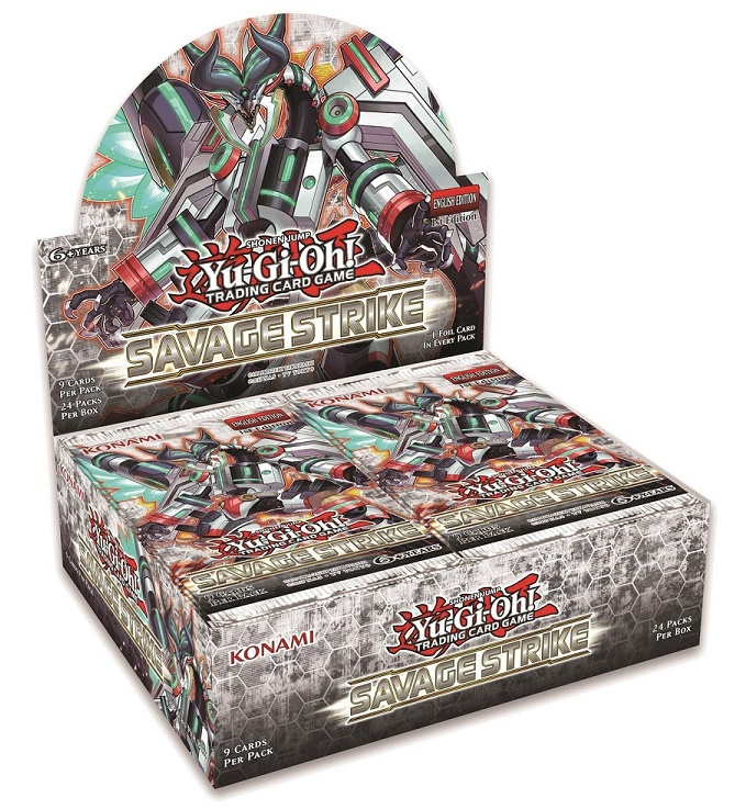 Buy YuGiOh Savage Strike (24CT) Booster Box