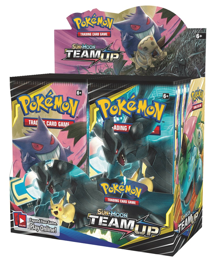 Buy Pokemon Sun and Moon Team Up (36CT) Booster Box