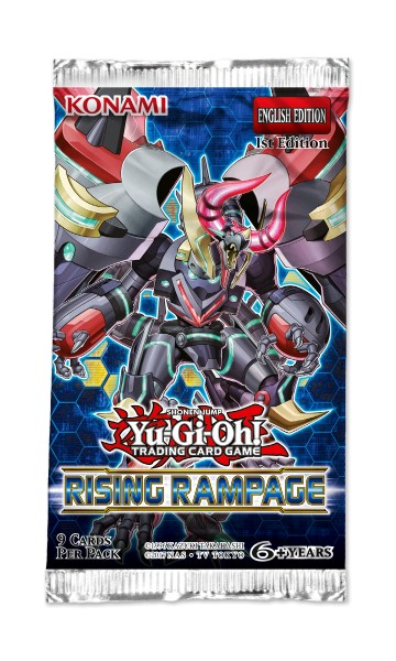 Buy YuGiOh Rising Rampage Booster