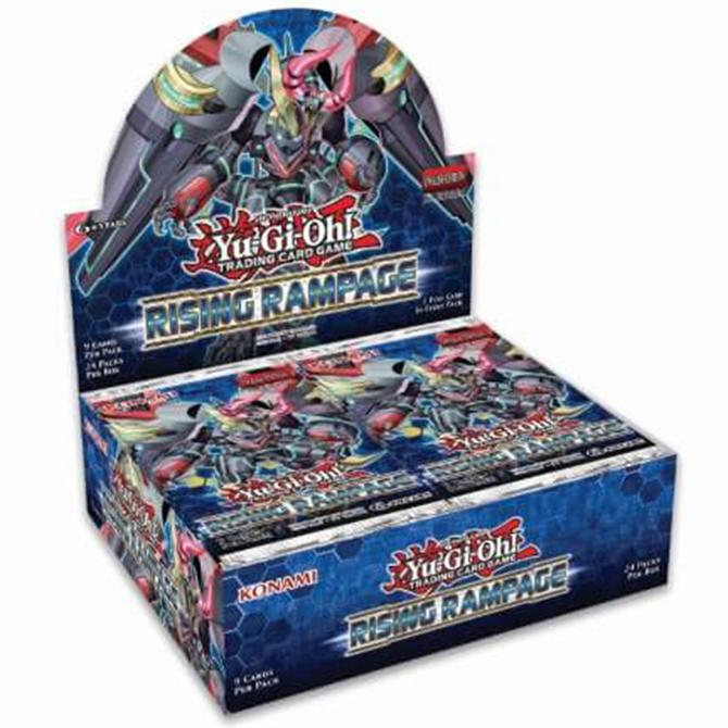 Buy YuGiOh Rising Rampage (24CT) Booster Box in New Zealand.