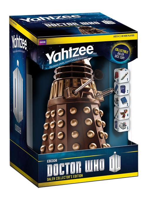 Buy Yahtzee - DR Who Dalek Collector's Edition