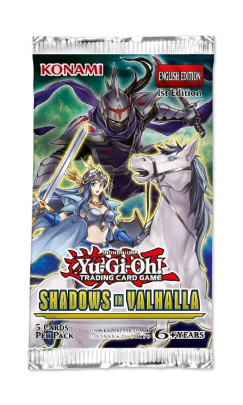 YuGiOh Shadows in Valhalla Booster