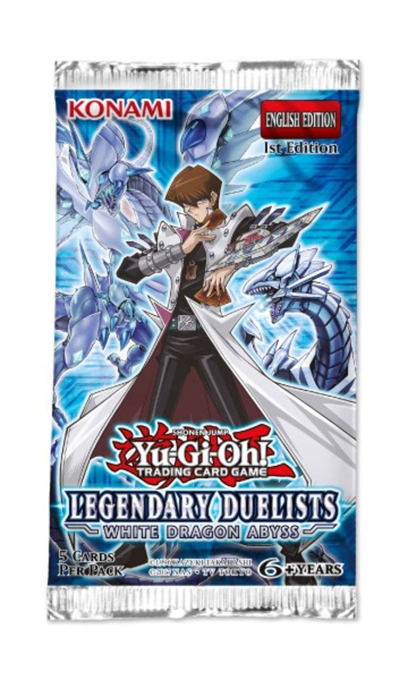 YuGiOh Legendary Duelists White Dragon Abyss Booster