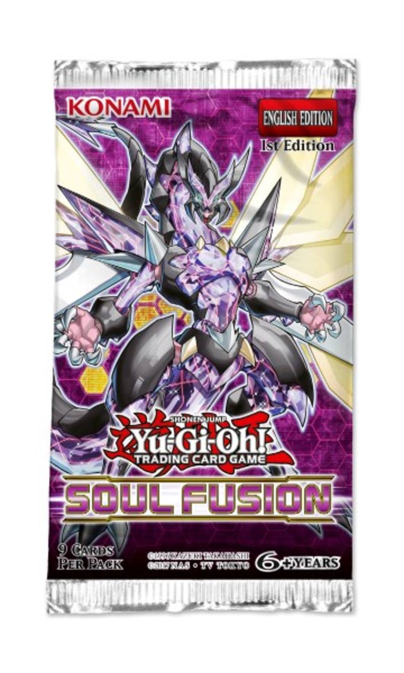 YuGiOh Soul Fusion Booster - Preorder Delayed
