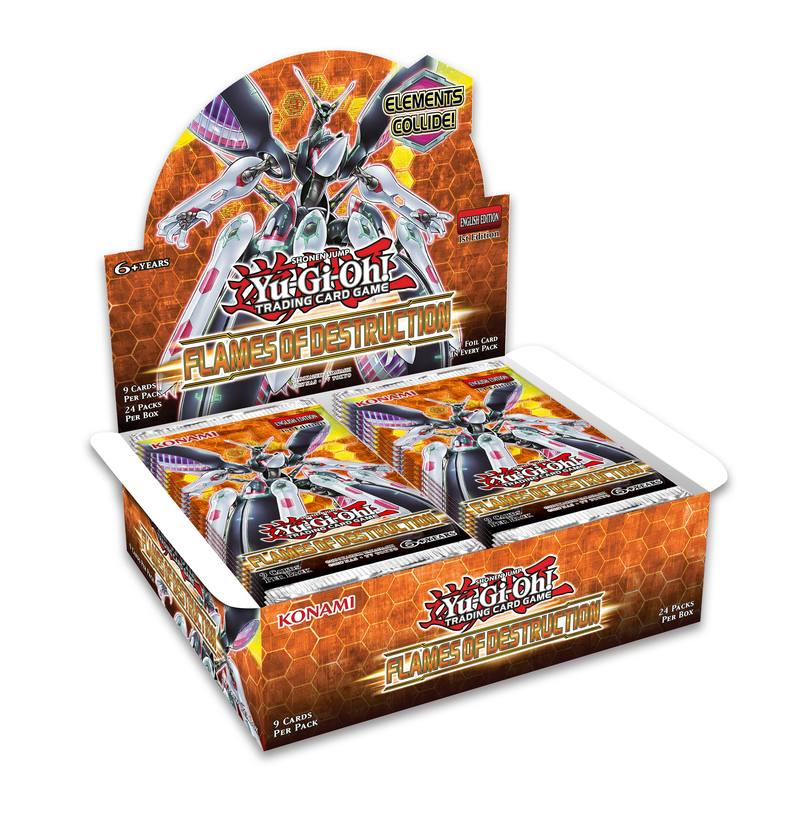 YuGiOh Flames of Destruction (24CT) Booster Box