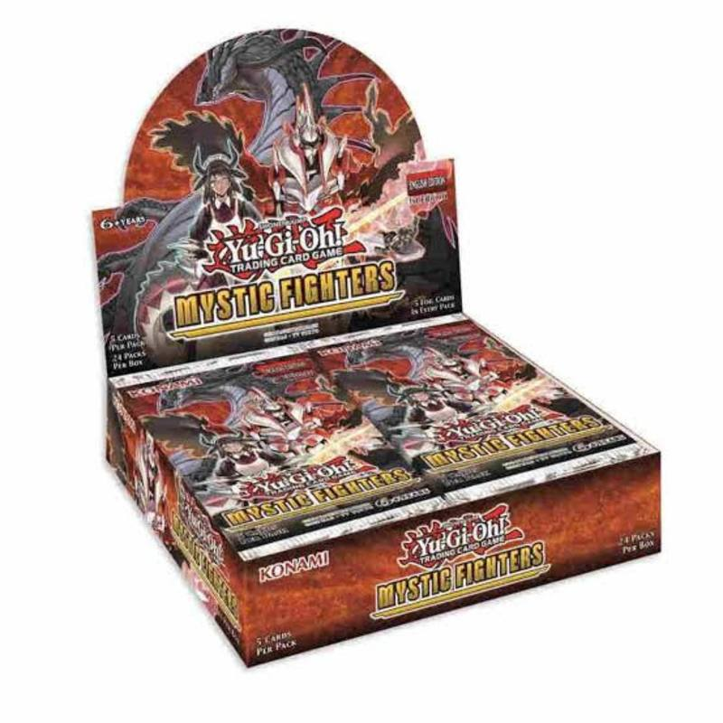 YuGiOh Mystic Fighters (24CT) Booster Box