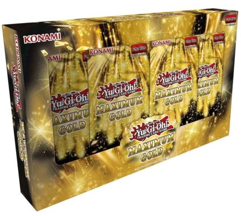 YuGiOh Maximum Gold (6CT) Box