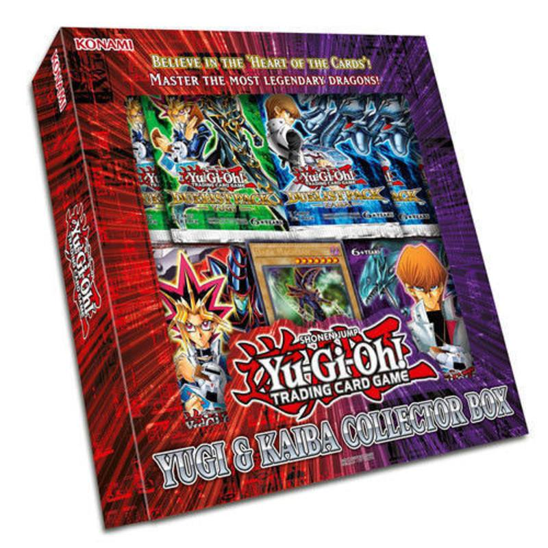 YuGiOh Yugi and Kaiba Collector Box