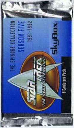 Buy Star Trek The Next Generation Season Five Trading Cards in AU New Zealand.