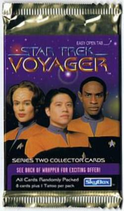 Buy Star Trek Voyager Series Two Trading Cards in AU New Zealand.