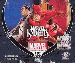 Buy Marvel vs Marvel Knights 24CT Unlimited Ed Booster Box in AU New Zealand.