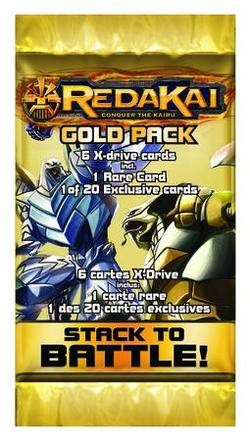 Buy Redakai Gold Pack Booster in AU New Zealand.