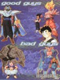 Buy Dragonball Z Good Bad Poster in AU New Zealand.