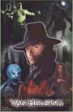 Buy Van Helsing Collage Poster in AU New Zealand.