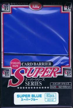 Buy KMC Super Blue (80CT) Large Magic Size Sleeves in AU New Zealand.