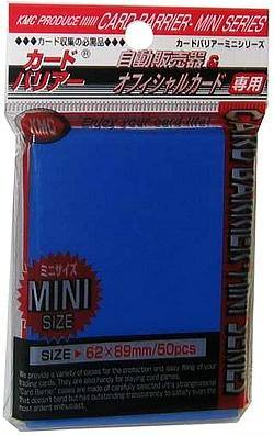 Buy KMC Yu-Gi-Oh Size Deck Protectors (50CT) - Blue in AU New Zealand.