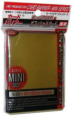 Buy KMC Yu-Gi-Oh Size Deck Protectors (50CT) - Gold in AU New Zealand.