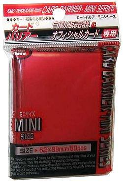 Buy KMC Yu-Gi-Oh Size Deck Protectors (50CT) - Metallic Red in AU New Zealand.