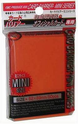 Buy KMC Yu-Gi-Oh Size Deck Protectors (50CT) - Orange in AU New Zealand.