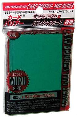 Buy KMC Yu-Gi-Oh Size Deck Protectors (50CT) - Green in AU New Zealand.