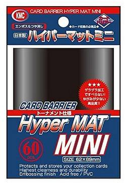 Buy KMC Hyper Mat Mini Black Sleeves in AU New Zealand.