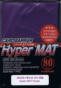 Buy KMC Hyper Mat Purple (80CT) Large Magic Size Sleeves in AU New Zealand.