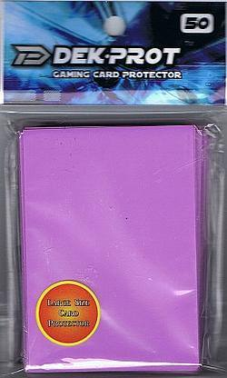 Buy Dek-Prot Magic Size (50CT) Lilac Purple Sleeves in AU New Zealand.