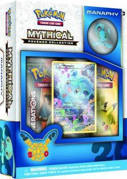 Buy Pokemon Mythical Manaphy Collection Box in AU New Zealand.