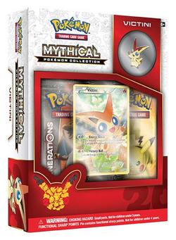 Buy Pokemon Mythical Victini Collection Box in AU New Zealand.