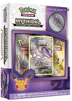 Buy Pokemon Mythical Genesect Collection Box in AU New Zealand.