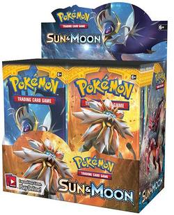 Buy Pokemon Sun and Moon (36CT) Booster Box in AU New Zealand.