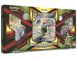 Buy Pokemon Mega Tyranitar-EX Premium Collection Box in AU New Zealand.