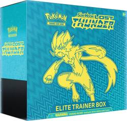 Buy Pokemon Sun and Moon Lost Thunder Elite Trainer in AU New Zealand.