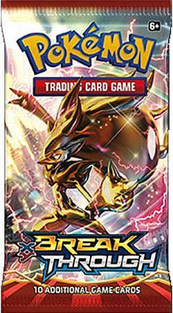 Buy Pokemon XY Break Through Booster in AU New Zealand.
