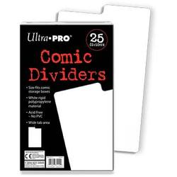 Buy Ultra Pro Comic Dividers (25CT) Pack in AU New Zealand.