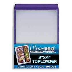 Buy Ultra Pro Rigid Top Loader (25CT) Blue Border in AU New Zealand.