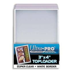 Buy Ultra Pro Rigid Top Loader (25CT) White Border in AU New Zealand.