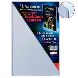 "Buy Ultra Pro 7-1/2"" X 11"" Thick Comic Toploader (10CT) in AU New Zealand."