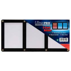 Buy Ultra Pro 3-Card Black Frame Screwdown Holder in AU New Zealand.