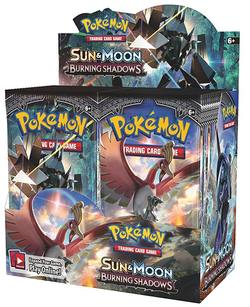 Buy Pokemon Sun and Moon: Burning Shadows (36CT) Booster Box in AU New Zealand.