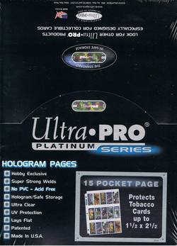 Buy Ultra Pro 15 Pocket Pages 100 Count Box in AU New Zealand.