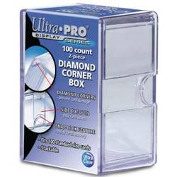Buy Ultra Pro Diamond Corners 100 Count Clear Card Storage Box in AU New Zealand.