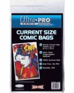Buy Ultra Pro Current Size Comic Bags in AU New Zealand.