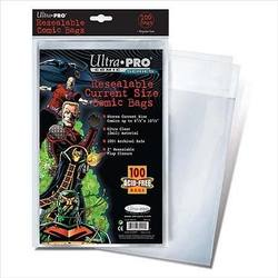 Buy Ultra Pro Current Size Resealable Comic Bags in AU New Zealand.